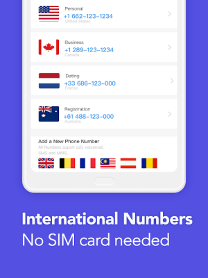TalkU: Phone Numbers for Free Calling & Texting 4.16.4 Screen 6