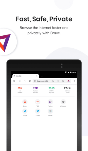 Brave Privacy Browser: Fast, free and safe browser 1.3.2 Screen 12