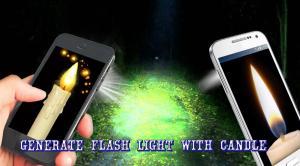 Candle FlashLight 1.07 Screen 1