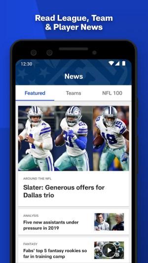 NFL 17.5.0 Screen 1