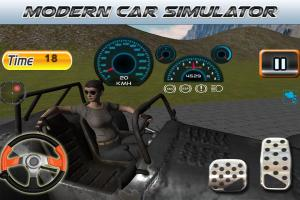 Android Parking Revolution: Super Car Offroad Hilly Driver Screen 2