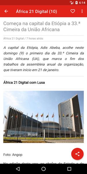 Angola notícias 1.0.5.4 Screen 5