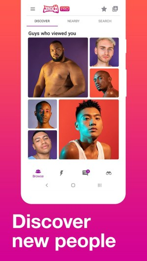 Jack'd - Gay Chat & Dating 6.3502 Screen 2