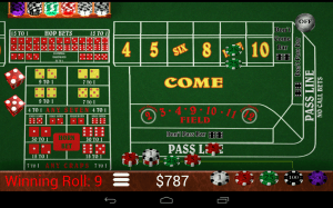 Craps Trainer Free 2.10 Screen 2