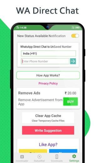 Status Saver - Downloader for Whatsapp 1.68 Screen 1