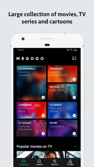 MEGOGO - TV and Movies 3.5.10 Screen 12