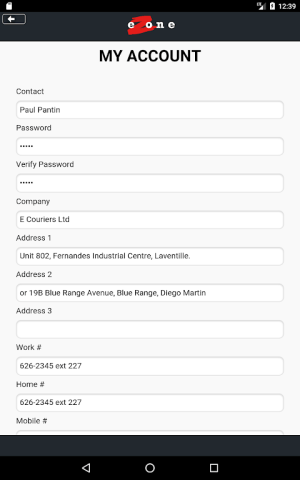 eZone 10.1.2 Screen 18