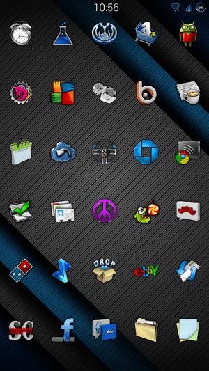 Cobalt Icon Pack 9.9 Screen 6