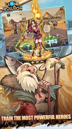 Clone Evolution: RPG Battle-Future Fight Fantasy 1.3.0 Screen 4