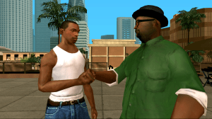 Android Grand Theft Auto San Andreas Screen 3
