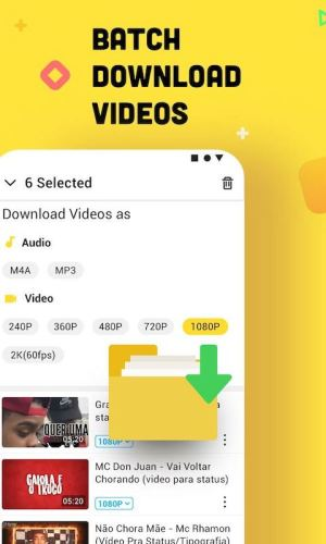 Official Snaptube: YouTube downloader & MP3 Converter 4.86.0.4862610 Screen 5