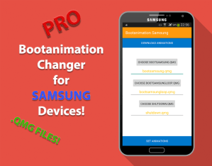 Bootanimation for Samsung Pro 2.6 Screen 3