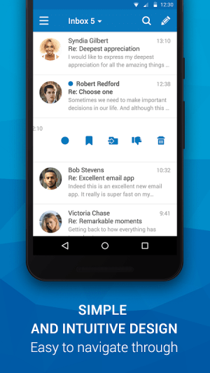 Email App for Outlook & others 6.1.0.23156 Screen 2