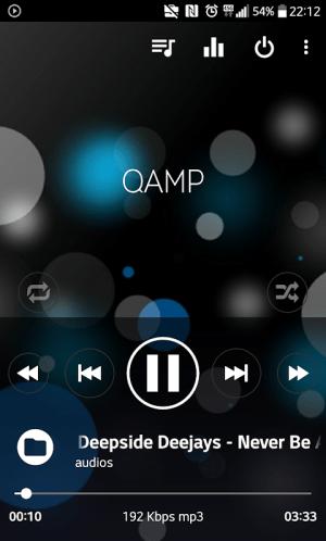 Pro Mp3 player - Qamp 1.1.115 Screen 3