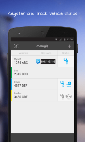 Android Mawgif Screen 3