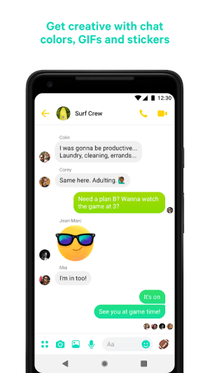 Messenger – Text and Video Chat for Free 218.0.0.0.46 Screen 5