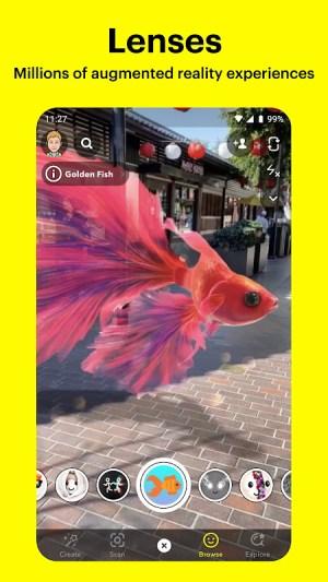 Snapchat 11.46.0.33 Screen 5