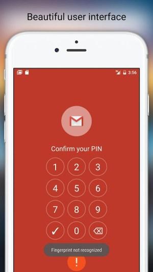 Fingerprint Pattern App Lock 4.79 Screen 3
