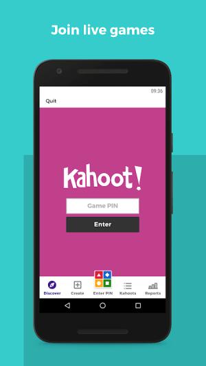 Kahoot! 3.7.6 Screen 13