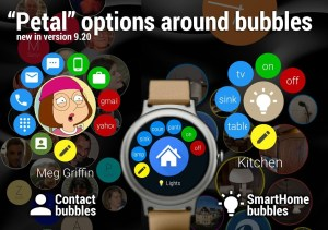 Bubble Cloud Tile Launcher Watchface (WearOS) 9.70 Screen 29