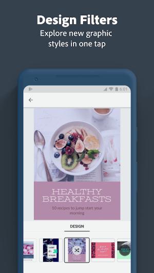 Adobe Spark Post: Poster & Graphic Design Editor 0.6.2 Screen 3