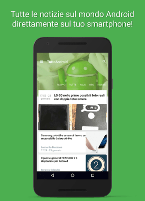 Android TuttoAndroid.net - Le notizie su Android Screen 3