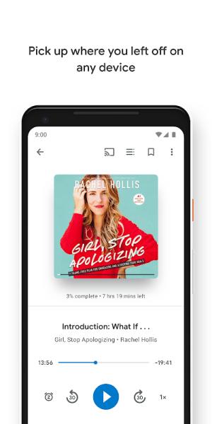 Android Google Play Books - Ebooks, Audiobooks, and Comics Screen 12
