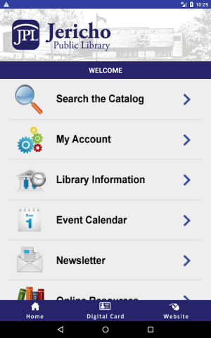 Jericho Mobile Library 4.0.5 Screen 1