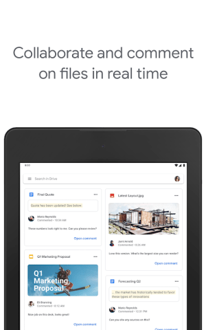 Google Drive 2.20.461.08.40 Screen 5