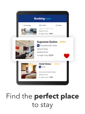 Booking.com - Book hotels, houses, cottages & more 26.6.1.1 Screen 1
