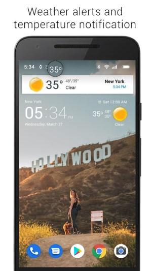 Transparent clock weather (Ad-free) 3.00.06 Screen 4