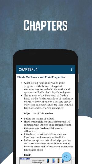 Android Learn Fluid Mechanics Screen 2