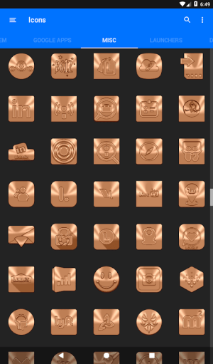 Android Sepia Icon Pack ✨Free✨ Screen 18