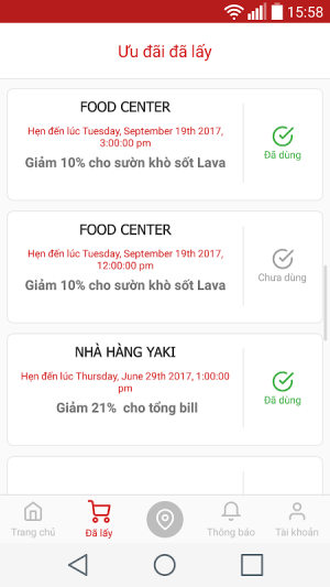 Meete - Food & Drink deal 4.5.2 Screen 5