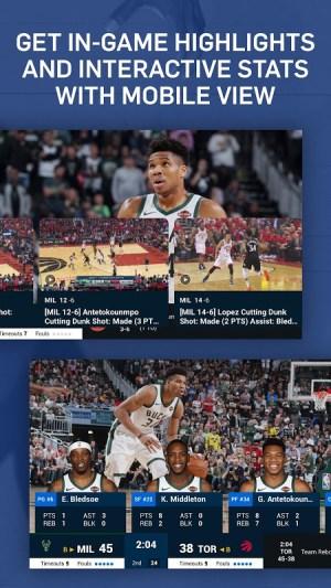 NBA: Live Games & Scores 3.1.4 Screen 2