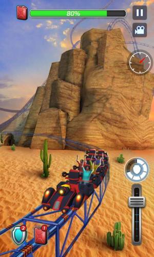 Roller Coaster 3D 1.0.3 Screen 1