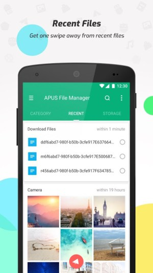 Android Super File Manager (Explorer) Screen 1