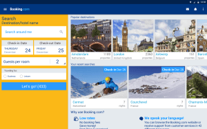Booking.com - Book hotels, houses, cottages & more 21.8.0.1 Screen 1