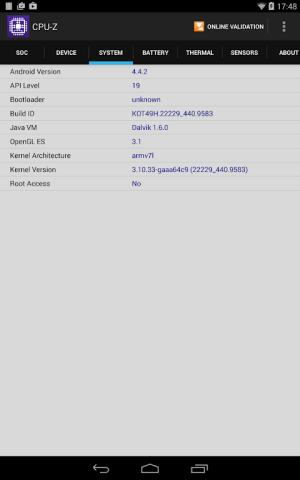 CPU-Z 1.33 Screen 13