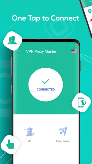 Android Snap Master VPN-Free VPN & security unblock Proxy Screen 2