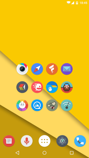 Android Kiwi UI Icon Pack Screen 3