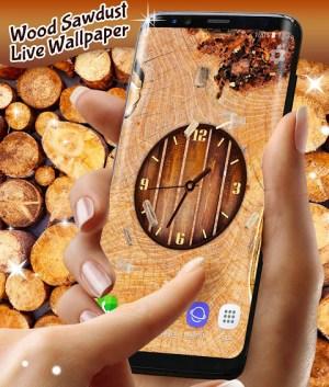 Wood Live Wallpaper ⭐ Sawdust Wallpapers 6.7.13 Screen 5