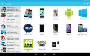 Alza.co.uk 6.1.0 Screen 1