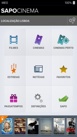 Android Cinema Screen 4