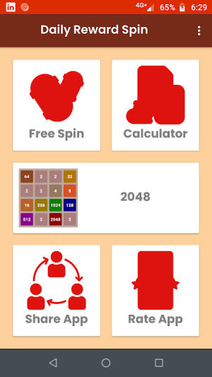 Crazy spin and coin 2048 2.0 Screen 2