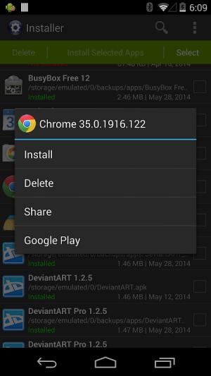 Installer Pro - Install APK 3.5.0 Screen 1