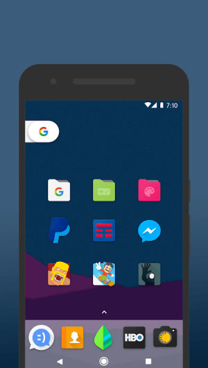 Android Nucleo UI - Icon Pack Screen 7