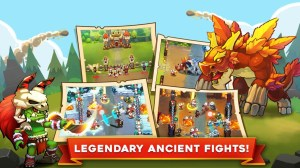 King Rivals: PvP RTS war clash strategy game 1.0.94 Screen 2
