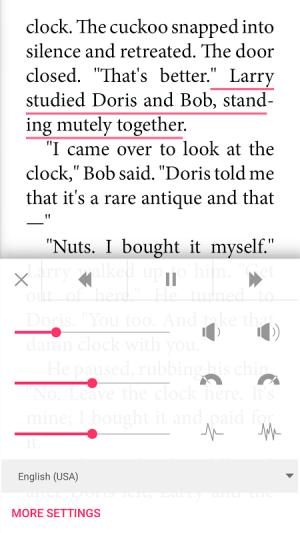 Bookari Ebook Reader Premium 4.2.4 Screen 3