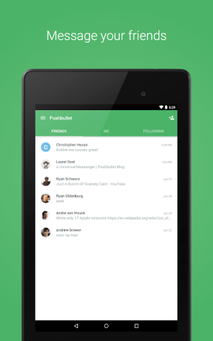 Pushbullet - SMS on PC and more 18.2.31 Screen 8